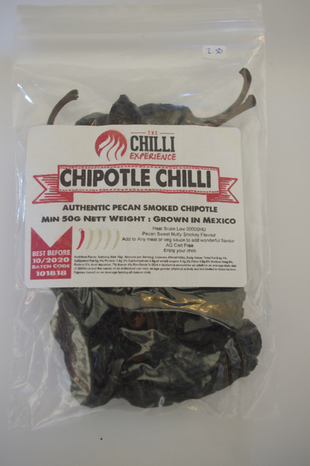 Chipotle Chilli (whole) - 100g