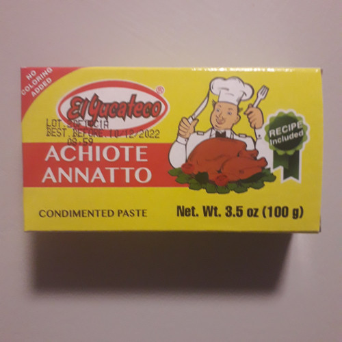 Achiote Annatto Paste - 100g