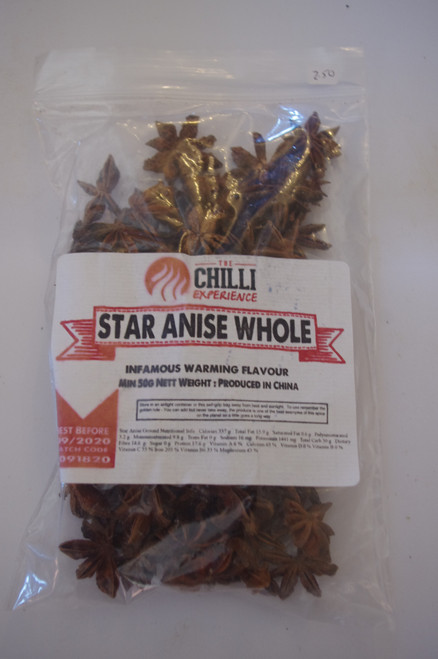 Star Anise (Whole) - 50g