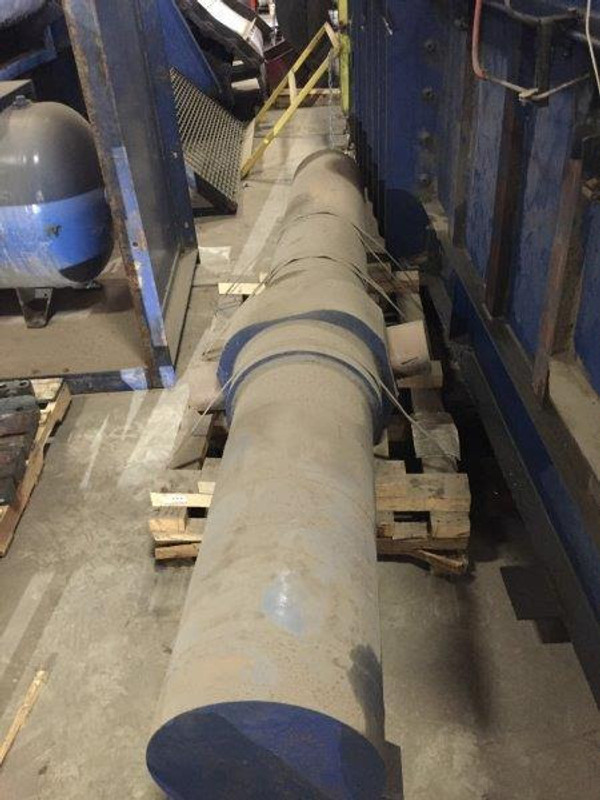 2004 150 HP Two Ram American T-Rex System - Steel Belt Conveyor