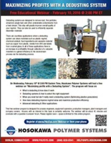 Dedusting Webinar