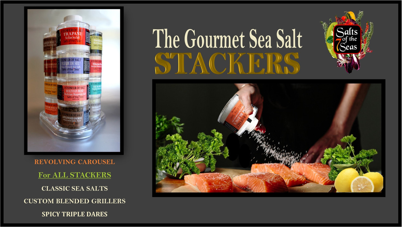 STACKER & GRILLER SEA SALTS