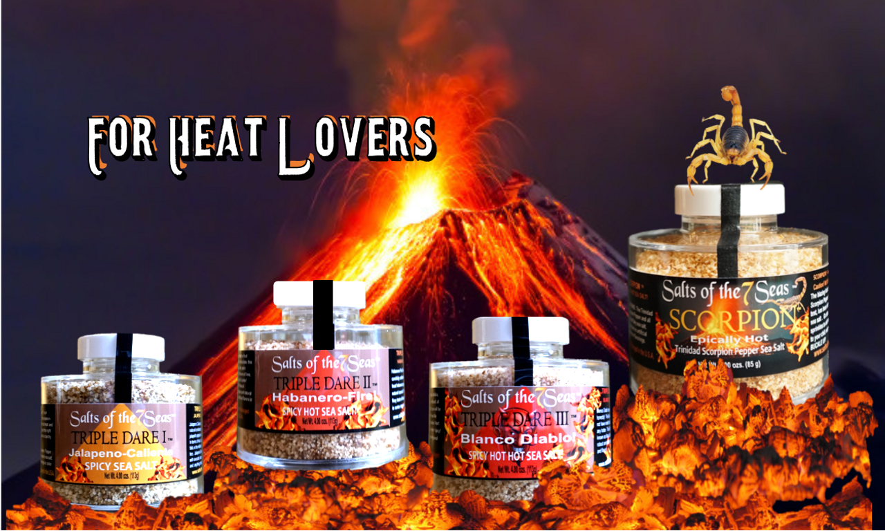 TRIPLE DARE HOT & SPICY SEA SALT STACKERS