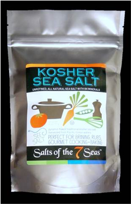Kosher white sea salt in bag , pyramid flake white sea salt, 100% kosher  white salt