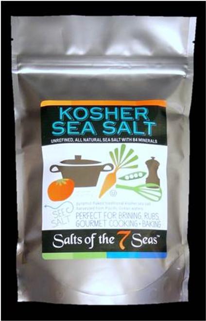 Kosher white sea salt in bag , pyramid flake white sea salt, 100% kosher  white salt