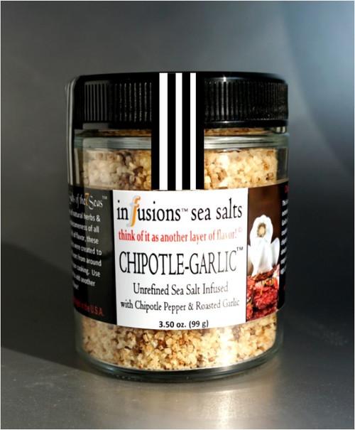 salts of the 7 seas Gourmet Sea Salt Chipotle-Garlic Infused Sea salt