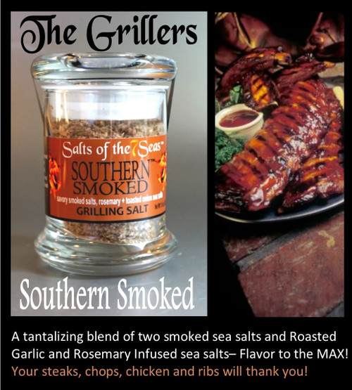 This membership brings a new Griller sea salt to your door each month. Eperiment with theses blends of sea salt and peppercorns to discover your favorite!