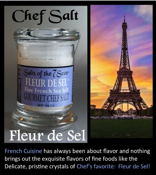 This 3 month membership brings a new Chef salt to your door each month. Sample the different  all natural textures and mineral content from these unique sea salts.