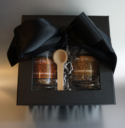 The Perfect Grill Mate Sea Salt Gift set makes the perfect gift for the person who loves smoked flavor and a great addition to their grilled foods. Free shipping included in the price!