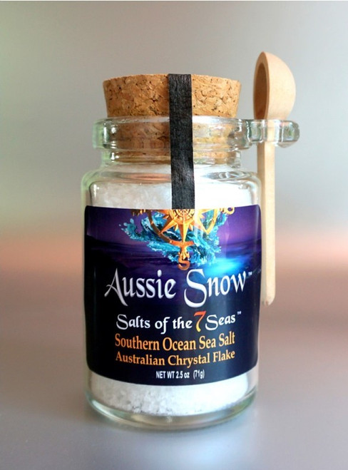 Our Southern Ocean's newest crystal flake sea salt makes the perfect finishing salt.