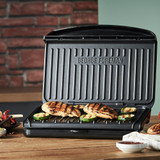 George Foreman Medium Fit Grill Open lifestyle image