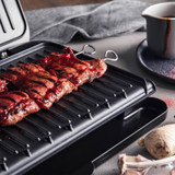 George Foreman Large Fit Grill Lifestyle Image Open