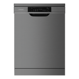 Westinghouse 15 Place Dark S/Steel Freestanding Dishwasher - Betta Online Only Price