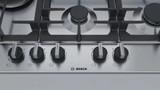Bosch 75cm S/Steel 4 Burner with Wok Gas Cooktop Series 6 - Betta Online Only Price