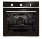 Parmco 60cm S/S 5 Function 76L Built-in Oven Retractable Knobs - Betta Online Only Price