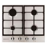 Parmco 60cm S/Steel 4 Burner Gas Cooktop - Betta Online Only Price