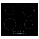 Parmco 60cm Black 4 Zone Frameless Touch Control Induction Cooktop - Betta Online Only Price