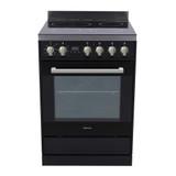 Parmco 60cm Black Ceramic Electric Freestanding Stove - Betta Online Only Price