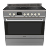 Parmco 90cm S/S Ceramic 8 Function 123L Electric Freestanding Cooker - Betta Online Only Price