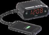 Teac Alarm Clock Radio with USB Charge Output