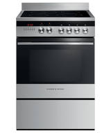 Fisher & Paykel 60cm S/Steel Ceramic Electric Freestanding Cooker - Betta Online Only Price