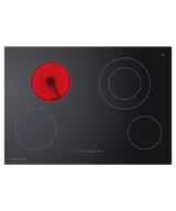 Fisher & Paykel 75cm Touch & Slide 4 Zone Ceramic Cooktop - Betta Online Only Price