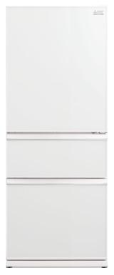 Mitsubishi Electric 492L White Glass Multi Drawer Fridge/Freezer Wide Designer Series - Betta Online Only Price