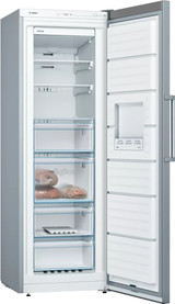 Bosh 246L S/Steel Vertical Freezer Series 4 - Betta Online Only Price