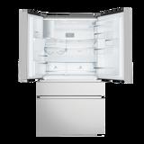 Electrolux 681L Natural S/Steel French Door Fridge/Freezer - Betta Online Only Price