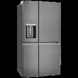 Westinghouse 609L Dark S/Steel French Door Ice & Water Fridge/Freezer - Betta Online Only Price
