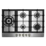 Parmco 77cm S/Steel 5 Burner Gas Cooktop - Betta Online Only Price