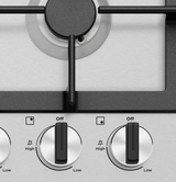 Westinghouse 60cm S/Steel 4 Burner Gas Cooktop - Betta Online Only Price