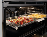 Westinghouse 90cm S/Steel 5 Function Pyrolytic Built-in Oven with AirFry - Betta Online Only Price