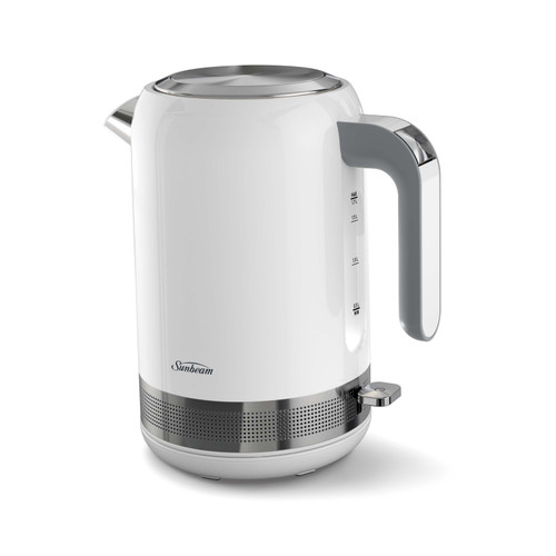 Sunbeam Simply Shine™ 1.7L White Kettle - Betta Online Only Price