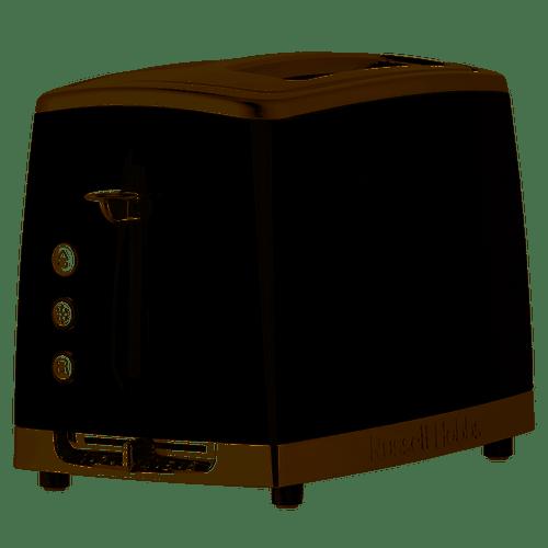 Russell Hobbs Lunar 2 Slice Toaster Grey - Betta Online Only Price