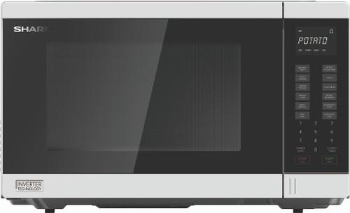 Sharp 34L White 1200w Inverter Microwave - Betta Online Only Price