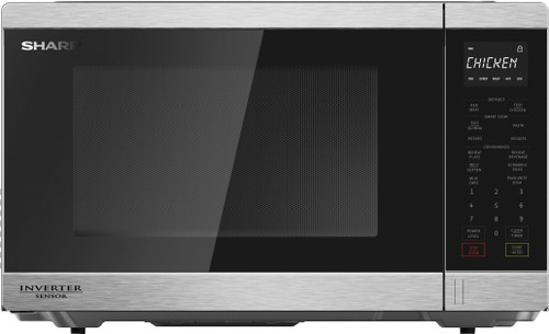 Sharp 34L S/Steel 1200w Inverter Sensor Microwave - Betta Online Only Price