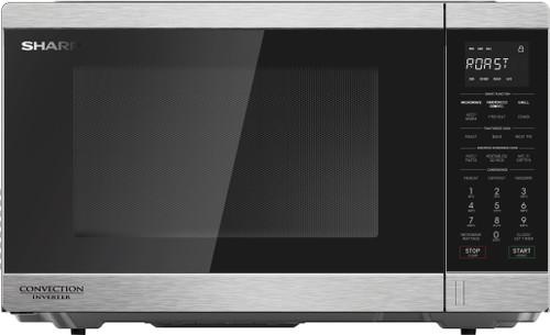 Sharp 34L1200W S/Steel 34L Inverter Microwave - Betta Online Only Price