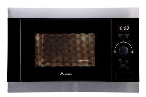 Award 30L S/Steel Built-in Microwave Oven with Grill - Betta Online Only Price