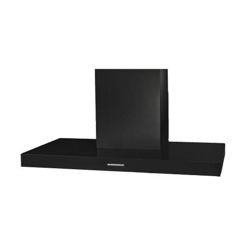 Award 90cm Matt Black Flat Box Canopy Rangehood - Betta Online Only Price