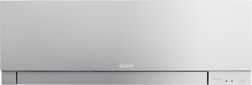 Mitsubishi Electric Designer EF25 Silver Wall Mounted Heat Pump - Betta Online Only Price