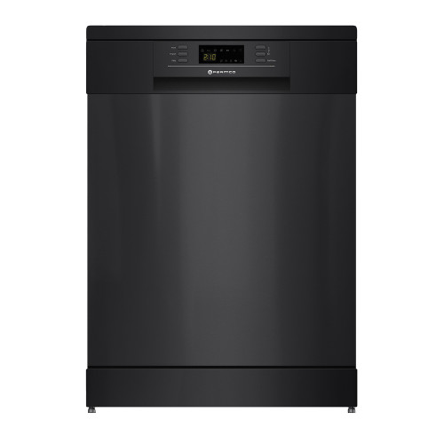Parmco 15 Place Black Freestanding Dishwasher - Betta Online Only Price