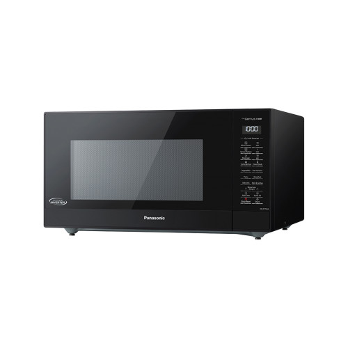Panasonic 44L Black Genius Sensor Cyclonic Microwave Oven - Betta Online Only Price