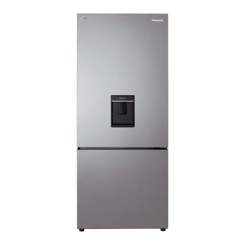 Panasonic 419L S/Steel Bottom Mount Fridge/Freezer with Hygiene Water - Betta Online Only Price