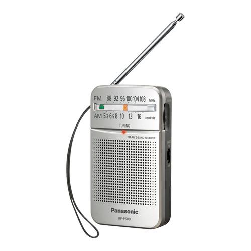 Panasonic Silver Portable Radio - Betta Online Only Price