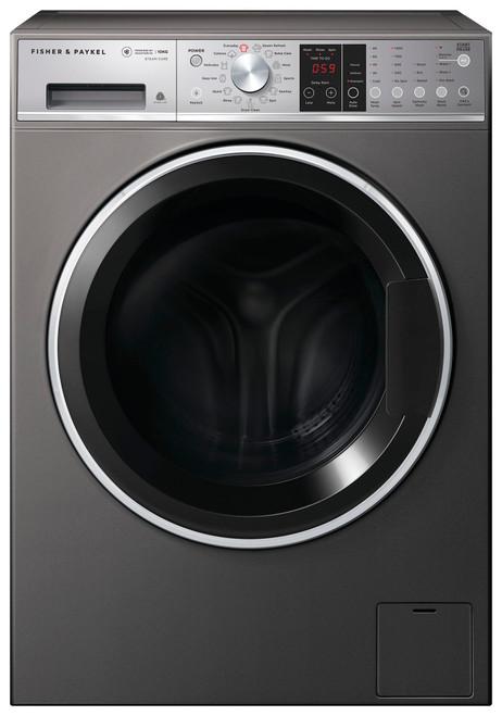 Fisher & Paykel 10kg Graphite Front Load Washing Machine