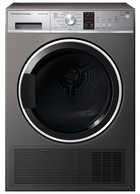 Fisher & Paykel 9kg Graphite Heat Pump Dryer