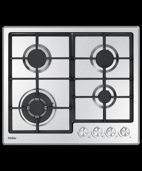 Haier 60cm S/Steel 4 Burner Gas Cooktop - Betta Online Only Price