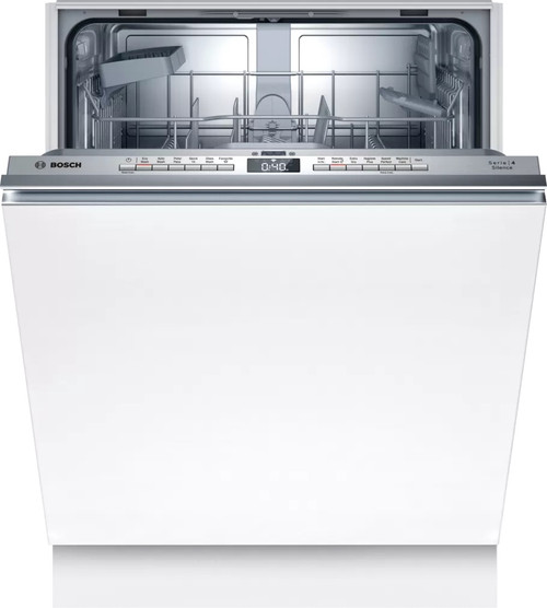 Bosch 14 Place White Fully-Integrated Dishwasher Series 4 - Betta Online Only Price