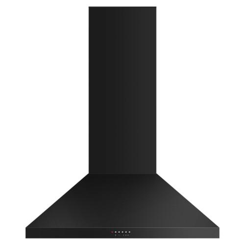 Fisher & Paykel 90cm Black Pyramid Chimney Rangehood - Betta Online Only Price
